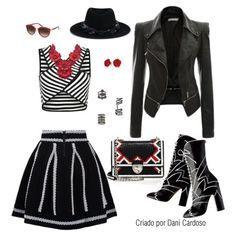 Listras P&B - Look casual