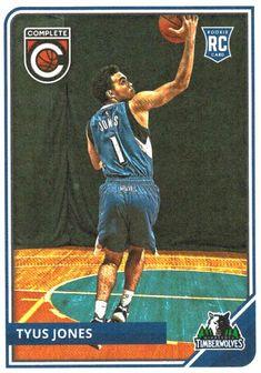 3deeb43a1 2015-16 Panini Complete Tyus Jones Rookie Card Minnesota Timberwolves Tyus  Jones