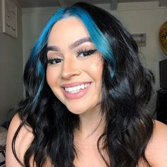 hair inspiration grunge ARCTIC FOX HAIR COLOR nava_beautyyy_ Had to touch up my bangs arcticfoxhaircolor poseidon Hair Color Streaks, Hair Dye Colors, Cool Hair Color, Color Highlights, Two Color Hair, Baddie Hairstyles, Cool Hairstyles, Formal Hairstyles, Party Hairstyles