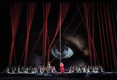 """NEW YORK (AP) — Francois Girard created quite a splash — literally — at the Metropolitan Opera seven years ago when he flooded the stage with fake blood for a scene in """"Parsifal. Flying Dutchman, Metropolitan Opera, Theatre Stage, Hanging Rope, Scenic Design, Short Film, Filmmaking, Scene, Google"""