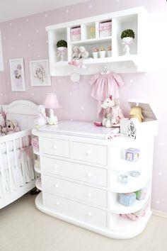 Quarto de Bebê Rosée by Atelier Rastro de Tinta - Decoração de Quartos de Bebês - Guia do Bebê