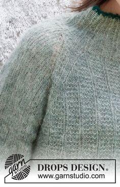 Easy Sweater Knitting Patterns, Knitting Charts, Drops Design, Magazine Drops, Winter Sweaters, Pulls, Knitting Projects, Knit Crochet, Fall Winter