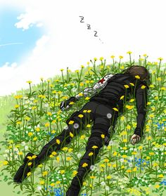 being the winter soldier can be difficult - so Bucky sometimes takes a break and becomes the summer soldier.