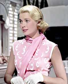 Grace Kelly... really pretty in pink..