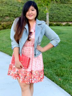 9679118e711 Curvy Girl Chic Plus Size Fashion Blog - Long Overdue - Peter Som for Kohls  Dress