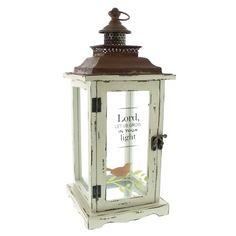 Grow in Your Light Faith Lantern