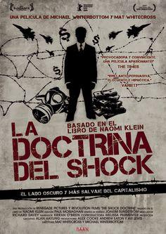 """""""La doctrina del Shock"""", si quieres saber el porqué de muchas cosas de las que suceden, leetelo! #emcastignani"""