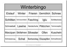 Themenbingo Winter Wisconsin, Alter, Boarding Pass, Gera, Bingo Template, The Gospel