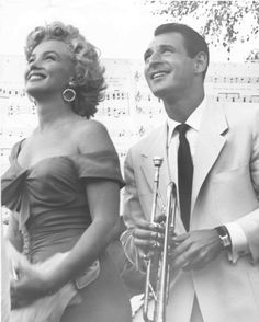 Marilyn Monroe at Ray Anthony's party....Follow Marilyn's life in pictures at https://au.pinterest.com/rmarkovics/
