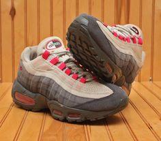 2011 Nike Air Max 95 Size 8.5 - White Pink Black Anthracite - 336620 020 #Nike #RunningCrossTraining