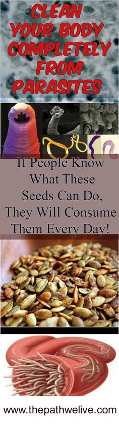 #Parasites #Clean #Body #Seeds