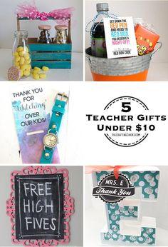 5 DIY Teacher Gifts Ideas Under 10 Treats Stuff
