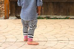 Baby Boy Baby Girl marineblau Elfenbein gestreiften von MEandREEKIE
