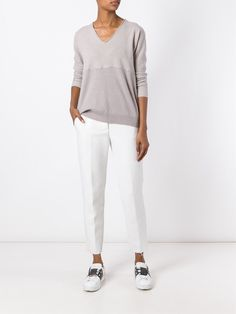 Fabiana Filippi scoop neck jumper