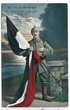 WWI, German postcard