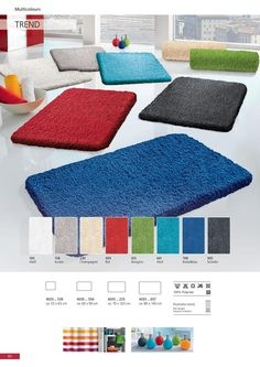Super soft and comfortable - designed to absorb water and keep your bathroom floor clean with polyester. Bath Trends, Bath Rugs, Bathroom Flooring, Kids Rugs, Water, Design, Home Decor, Gripe Water, Decoration Home