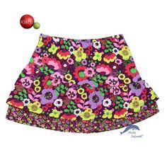 Falda de niña juvenil BOBOLI, estampada