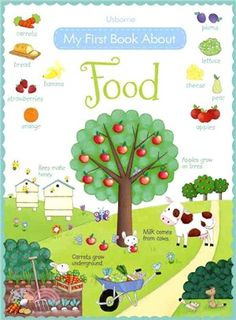My First Book About Food (with Over 120 Stickers)