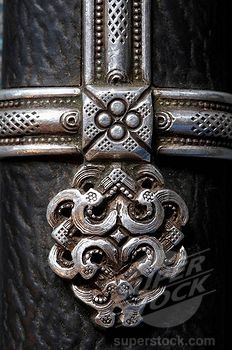 Detail of knife, Tov province, Mongolia