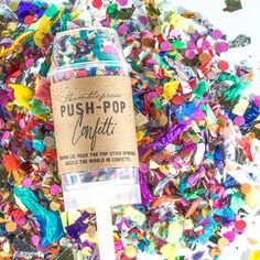 Push Pop Confetti - I need these to go along with my piñata filled with airplane shots