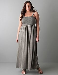 Love a maxi, especially in grey