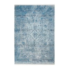 Dywan Obsession Laos LAO 454 blue - Obsession - DYWANY Dywany do sypialni - Sklep Dywanywitek Navy Rug, Oval Rugs, Round Rugs, Faux Cowhide Rug, Felt Ball Rug, Modern Moroccan, Washable Rugs, Powder Pink
