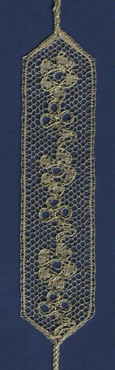 Bucks point bobbin lace, enlarged scale, from my website