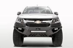 Fab Fours Chevy Colorado Vengeance Front Bumper with Pre-Runner Guard Bare Custom Trucks, Cool Trucks, Chevy Trucks, Pickup Trucks, Chevy 4x4, Chevy Stepside, Dually Trucks, Chevy Silverado, Diesel Trucks