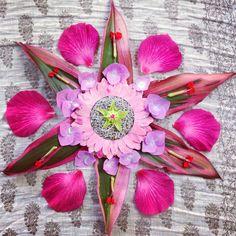 Flower mandala by Faith Evans-Sills