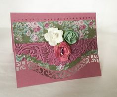 A personal favorite from my Etsy shop https://www.etsy.com/listing/263490361/handmade-cards-smoky-rose-card-love-card