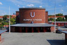 Berlin U-bahn-Station Olymiastadion 1913