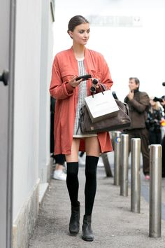 160 Fall & Winter Outfit Ideas from the Best Model Off-Duty Street Style | @StyleCaster