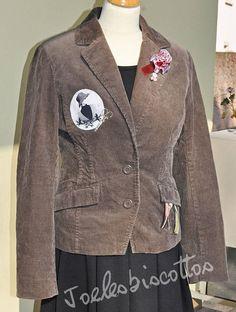 Veste en velours gris forme blazer manches longues Style Shabby Chic, Nouveau Look, Blazer, Jackets, Men, Etsy, Fashion, Gray, Shape