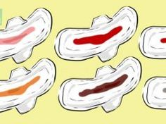 Toto Vám může říct barva krve během menstruace. Drtivá většina žen o tom nemá tušení…