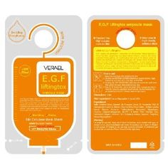 VERAEL Liftingtox: Premium Facial Mask Sheet (10 Pack) (Misc.) http://www.amazon.com/dp/B005B5XW2M/?tag=whthte-20 B005B5XW2M
