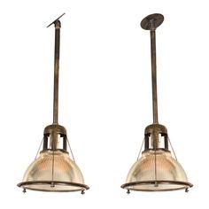 Vintage Holophane Lights