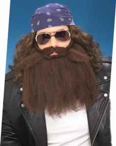 Make A Duck Dynasty Costume  Brown Beards and WIgs For Duck Dynasty Halloween Costumes