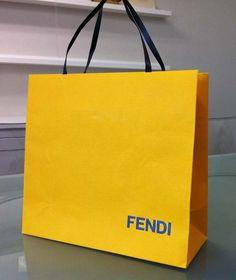 Paper Bag Design Print Graphic Fashion 紙袋 デザイン 印刷 グラフィクデザイン ファッション Shopping Bag Design, Paper Shopping Bag, Brand Packaging, Packaging Design, Cary Bag, Fendi, Shoping Bag, Paper Carrier Bags, Paper Bag Design