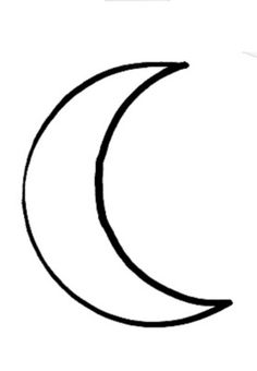 moon crescent outline tattoo drawing stars designs drawings easy clipart sketches tattoos simple crescents sketch cliparts pen paper royalty lunar
