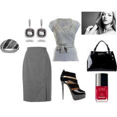 Gray, created by tatiana-vieira