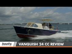 Vanquish 24 CC Boat Review / Performance Test - YouTube