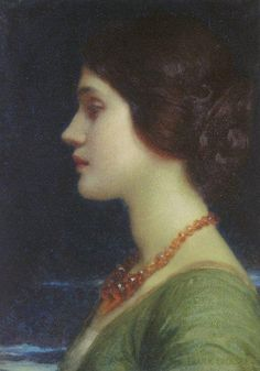 Portrait of Dora, by Sir Frank Dicksee
