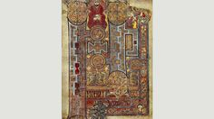 The title page of St John's Gospel (Credit: Credit: The Book of Kells)