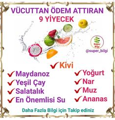 Diyet Yemekleri – The Most Practical and Easy Recipes Holistic Nutrition, Kids Nutrition, Healthy Nutrition, Home Beauty Tips, Fitness Tattoos, Herbalife Nutrition, Good Smile, Natural Health Remedies, Homemade Beauty Products