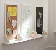 Hayden Simply White Utility Boards, Pottery Barn Kids