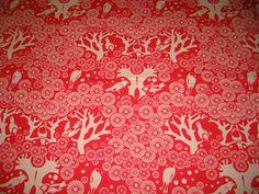 Black Tulip: Eastern Influence - Japanese-Inspired Fabric