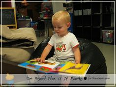 Tot School Plan 18-24 months from For This Season