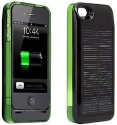 1600mAh Compact Solar Power Charger with Plastic Case for iPhone 4S, iPhone 4, Digital Product