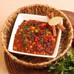 9 csilis bab recept, amit egy mexikói is boldogan falna! Soup, Meat, Chili Con Carne, Red Peppers, Soups