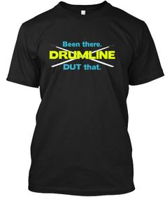 Show your DRUMLINE pride with this expressive t-shirt! Great for middle…